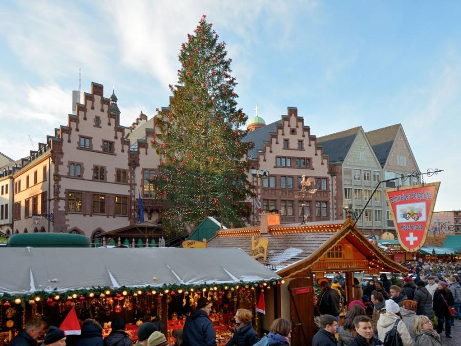Jarmark bożonarodzeniowy we Frankfurcie nad Menem. Fot. www.frankfurt-tourismus.de
