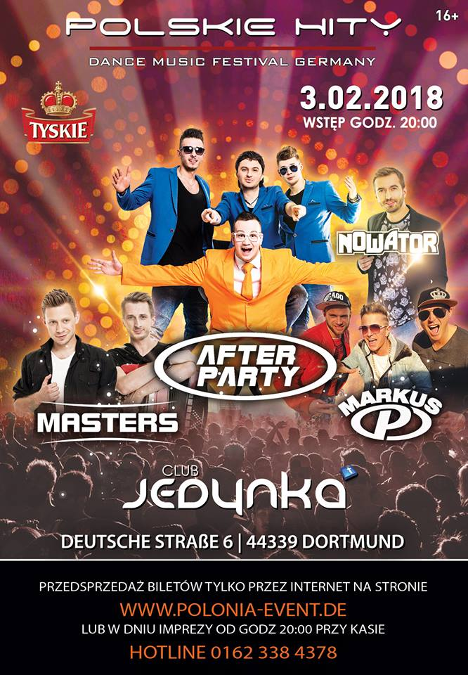 POLSKIE HITY - Dance Music Festival 2018 w Dortmundzie